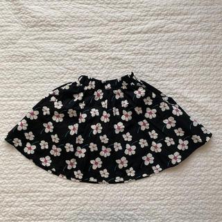 マーキーズ(MARKEY'S)のマーキーズ 花柄スカート キュロット 95〜100センチ(スカート)