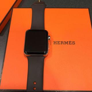 エルメス(Hermes)のアップルウォッチ エルメス(腕時計(デジタル))