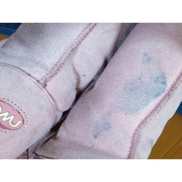 EMU(エミュー)のemu ピンク シープスキン ブーツ レディースの靴/シューズ(ブーツ)の商品写真