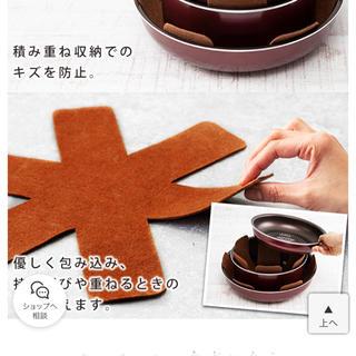 アイリスオーヤマ(アイリスオーヤマ)の収納用敷きパッド 鍋は付きません 3枚(収納/キッチン雑貨)