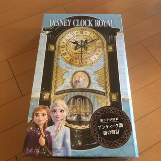 アナトユキノジョオウ(アナと雪の女王)のアナと雪の女王♡アンティーク調掛け時計(掛時計/柱時計)