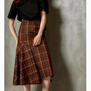 ルシェルブルー(LE CIEL BLEU)のhalf flare skirt(ロングスカート)