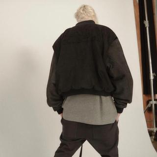 フィアオブゴッド(FEAR OF GOD)のfear of god 6th varcity jacket black(ミリタリージャケット)