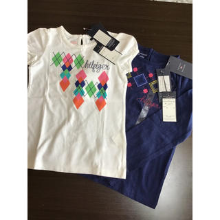 トミーヒルフィガー(TOMMY HILFIGER)のトミーヒルフィガー☆120センチ☆未使用ロンT Tシャツセット(Tシャツ/カットソー)
