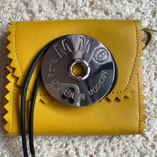 エムエムシックス(MM6)のMM6 マルジェラ財布 ウォレット イエロー(財布)