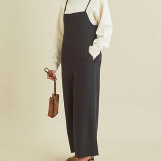 BEAUTY&YOUTH UNITED ARROWS - 美品!BEAUTY&YOUTH ダブルクロスリボンサロペット