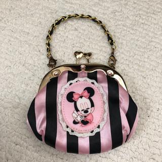 ディズニー(Disney)のミニーちゃん がま口財布(財布)