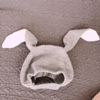 babyGAP - うさ耳ボンネット ニット帽