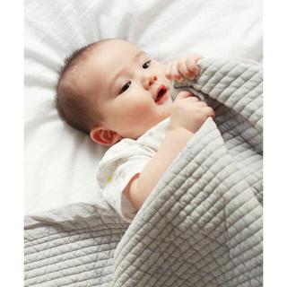 アクタス(ACTUS)のDADWAY ダッドウェイ スター 星 刺繍 イブル マット 毛布 タオルケット(ベビー布団)