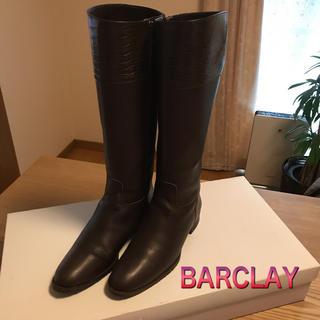 バークレー(BARCLAY)の美品♡BARCLAY♡ロングブーツ♡ダークブラウン(ブーツ)