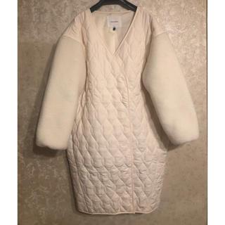 ラグナムーン(LagunaMoon)のラグナムーン コート Sサイズ(毛皮/ファーコート)