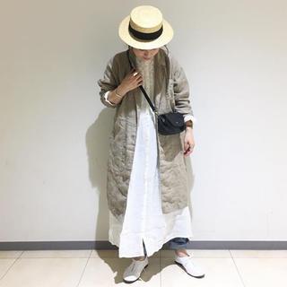 サマンサモスモス(SM2)のTSUHARU 新品 リネンムラ染めテーラードコート (テーラードジャケット)
