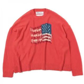 SUNSEA - DAIRIKU 19AW Inside Out America Knit