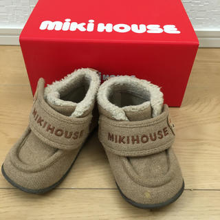 ミキハウス(mikihouse)のミキハウス ショートブーツ スニーカー 12.0センチ(ブーツ)