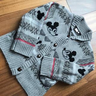 ディズニー(Disney)のディズニーセーター キッツ120サイズ(ニット)
