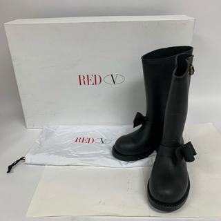 レッドヴァレンティノ(RED VALENTINO)のレッドバレンチノ 長靴、レインシューズ 表記無し(レインブーツ/長靴)