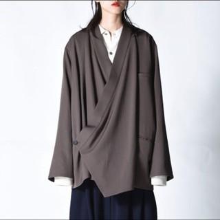 ヨウジヤマモト(Yohji Yamamoto)のbishool kimono Jacket(ノーカラージャケット)