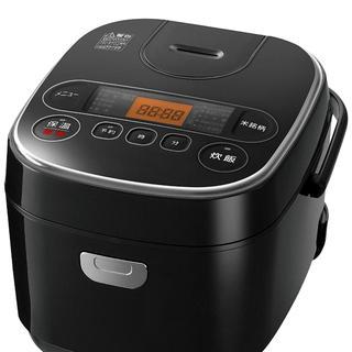 アイリスオーヤマ - アイリスオーヤマ 炊飯器マイコン式 5.5合極厚銅釜銘柄炊き分け機能付きブラック