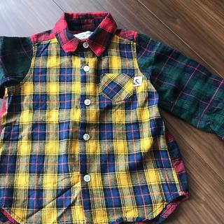 フィス(FITH)のカムチャットクロセット チェックシャツ 100(ブラウス)