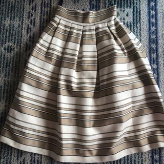 ダブルスタンダードクロージング(DOUBLE STANDARD CLOTHING)のダブスタ  ボーダースカート(ひざ丈スカート)
