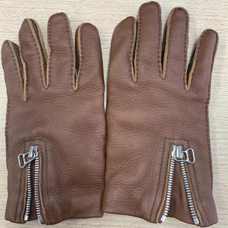 マルニ(Marni)のMARNI 鹿皮手袋 ☆(手袋)