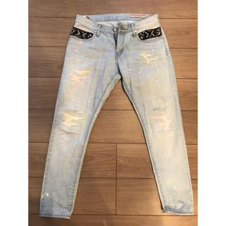 ダブルスタンダードクロージング(DOUBLE STANDARD CLOTHING)のダブスタ⭐︎ペイントデニム(デニム/ジーンズ)