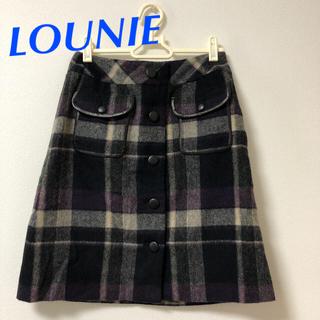 ルーニィ(LOUNIE)のルーニィ スカート(ミニスカート)