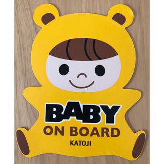 カトージ(KATOJI)のカトージ Baby onboard マグネット(車外アクセサリ)