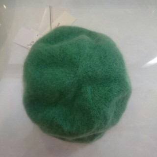 リリーブラウン(Lily Brown)の♥リリーブラウン♥新品未使用タグ付き、ニット ベレー帽(ハンチング/ベレー帽)