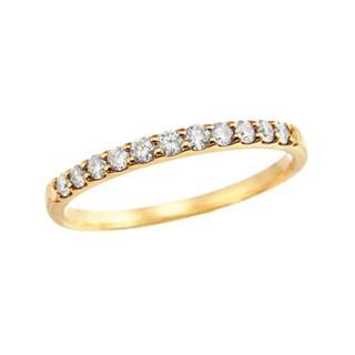 ジュエリーツツミ(JEWELRY TSUTSUMI)のTSUTSUMI ダイヤモンドリング K18(リング(指輪))