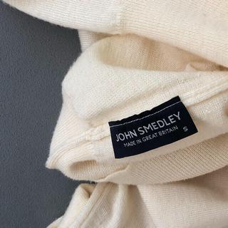 ジョンスメドレー(JOHN SMEDLEY)のジョン スメドレー ハイゲージ ニットタートルネックmadeinUKユニセックス(ニット/セーター)
