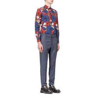 マルニ(Marni)のMARNI コットンポプリンフラワーシャツ(シャツ)