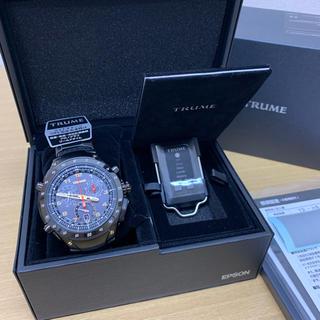 エプソン(EPSON)の【ゴエモン様】TR-MB8006 TRUME  時計  新品未使用(腕時計(アナログ))