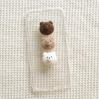 3匹のくまさんケース(iPhoneケース)