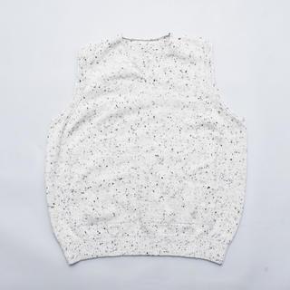 アンユーズド(UNUSED)のcrepuscule wholegarment knit vest/L.Gray(ベスト)