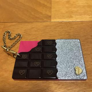 サマンサタバサプチチョイス(Samantha Thavasa Petit Choice)のSamantha Thavasa Petit Choice 板チョコパスケース(パスケース/IDカードホルダー)