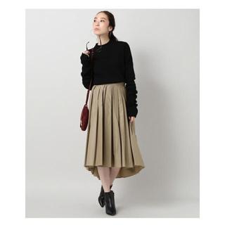 ノーブル(Noble)の中古サイズ36 NOBLE タイプライタータックギャザースカート(ひざ丈スカート)