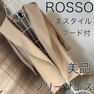 アーバンリサーチロッソ(URBAN RESEARCH ROSSO)の美品☆ROSSO☆美スタイル☆フード コート☆アーバンリサーチ(スプリングコート)