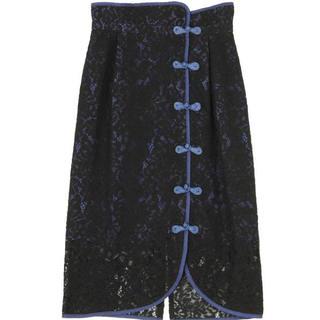パメオポーズ(PAMEO POSE)のもちもち子さま専用Macau Lace Tight Skirt(ひざ丈スカート)