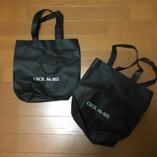 CECIL McBEE - セシルマクビー ショップ袋 2袋