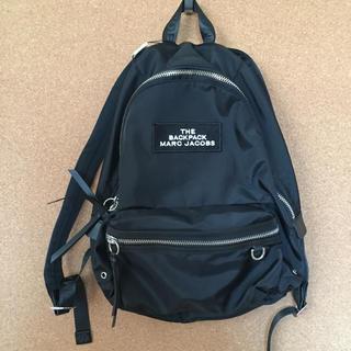 マークジェイコブス(MARC JACOBS)の新品 リュック バッグパック マークジェイコブスMarc JACOBSブラック黒(リュック/バックパック)