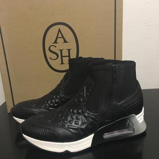ASH - ASH アッシュ 人気エアーソール スニーカー 黒 37