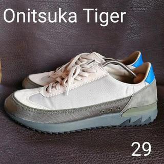 オニツカタイガー(Onitsuka Tiger)のOnitsuka Tiger HSINTI  フェザーグレー ダークオリーブ(スニーカー)