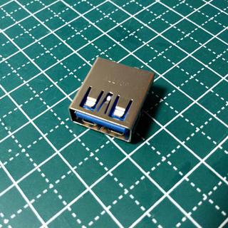 部品交換用 USB-A メスコネクタ  9ピン USB3.0  5個セット(PCパーツ)