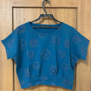 スパイラルガール(SPIRAL GIRL)のスパイラルガール Tシャツ トップス 花柄 新品(Tシャツ(半袖/袖なし))
