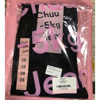 チュー(CHU XXX)のマイナス5kg ジーンズ ブラックスキニー  28(スキニーパンツ)