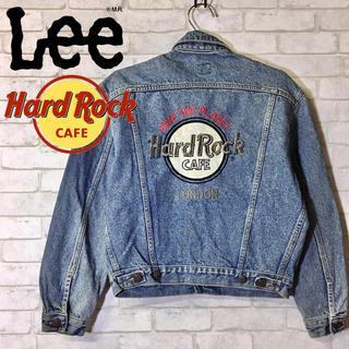 Lee - 【Lee×Hard Rock Cafe】デニムジャケット ビッグ刺繍 /Mサイズ