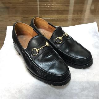 Gucci - GUCCI グッチ ホースビットローファー ビジネスシューズ 革靴