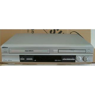 ビクター(Victor)のVHSビデオデッキ+DVDプレーヤー (ジャンク品) (DVDプレーヤー)
