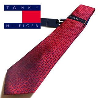 トミーヒルフィガー(TOMMY HILFIGER)の【新品未使用タグ付】TOMMY HILFIGER ネクタイ ブランドロゴ柄(ネクタイ)